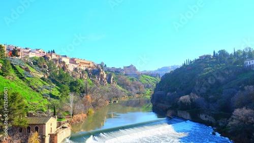 Foto op Canvas Turkoois Toledo