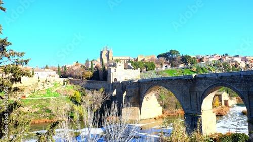 Spoed Foto op Canvas Turkoois Toledo, Spain