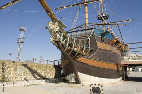 Foto auf AluDibond Schiff Varna, sailing ship