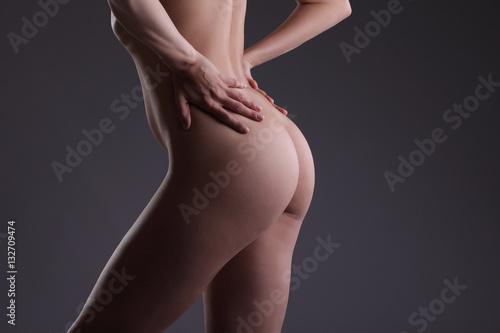 Zdjęcie XXL z powrotem i tyłek nagich kobiet