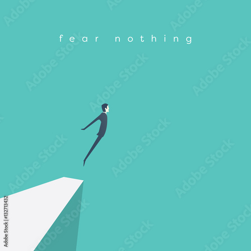 Fotografie, Obraz  Business concept of courage