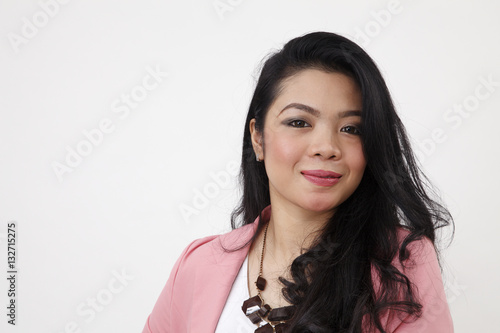 Fotografía  woman smiling