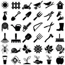 Garden Icon Collection - Vector Illustration