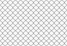 Seamless Metal Wire Mesh. Vector