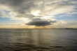 sunset on the humber estuary
