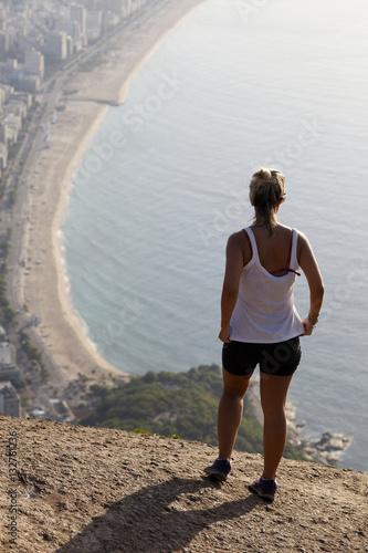 Fotografía  View of two brother mountain, Rio de Janeiro
