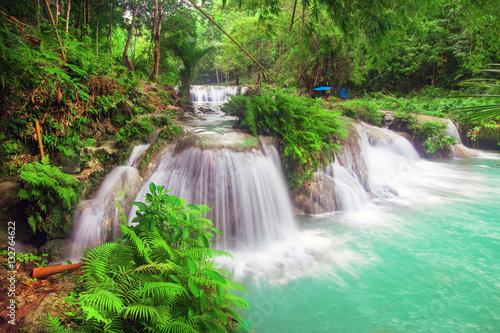 Fototapeten Wasserfalle waterfall of island of Siquijor. Philippines