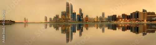 Fototapety, obrazy: Abu Dhabi Skyline