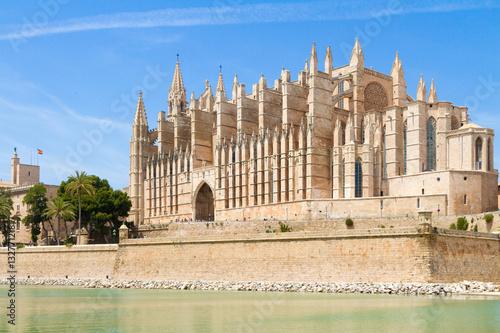 Balearic Islands Palma de Mallorca famous historical La Seu Cat