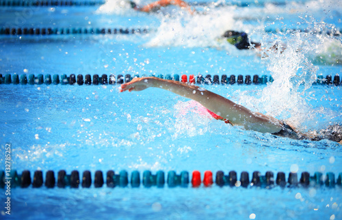Plakat Wyścig freestyle