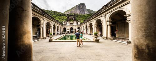 Photo  RIO DE JANEIRO, BRAZIL: view of the Parque Lage Lage park