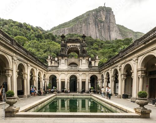 RIO DE JANEIRO, BRAZIL: view of the