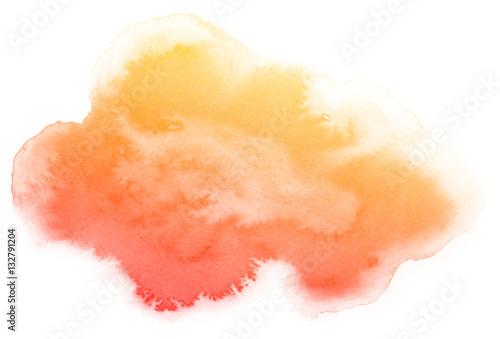 abstrakcjonistyczna-czerwona-akwarela-na-bialym-tle