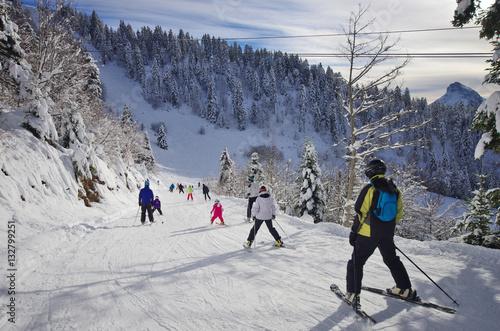 sports d'hiver - ski de piste