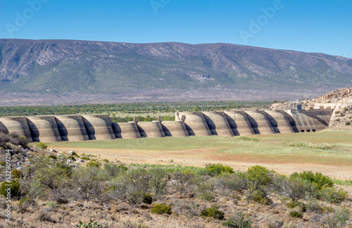Beervlei dam wall South Africa - Groot River Poster
