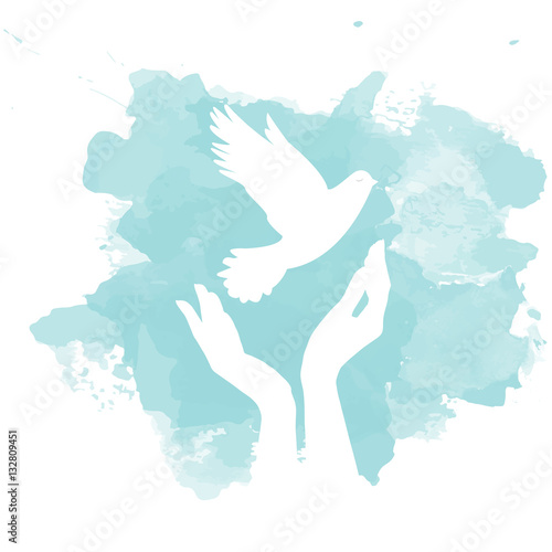 Dove of Peace Wall mural