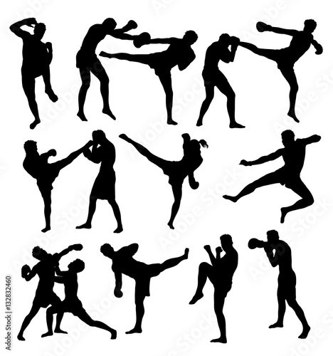 Photo  Free Boxing Sport activity, art vector design