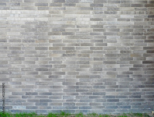 Two Adjacent Brick Walls With Different Patterns And Colors Meeting In The Corner Two Layer Of Small And Big Brick Wall Texture Use As Background Buy This Stock Photo And Explore Similar