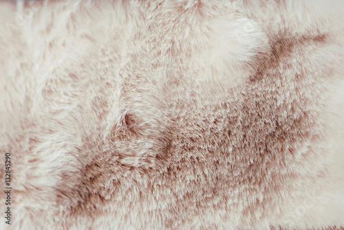 Fotografiet  Finta pelliccia color rosa
