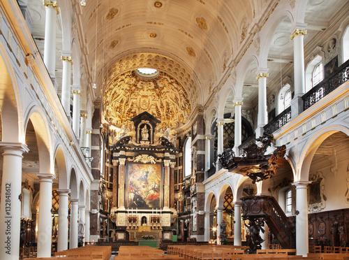 Foto op Plexiglas Antwerpen St. Charles Borromeo Church in Antwerp. Belgium