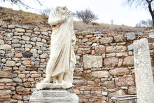 Headless Greek Statue At The A...