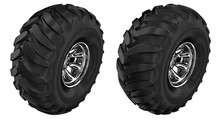 Wheels Monster Truck. Set 3d I...