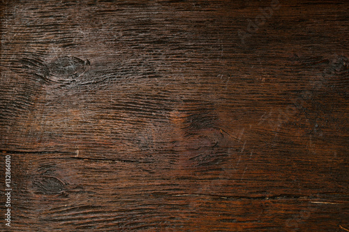 Fotobehang Stof Beautiful texture of natural aged wood closeup. Background, blank space for designer, vintage style