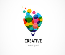 Creative, Digital Abstract And...