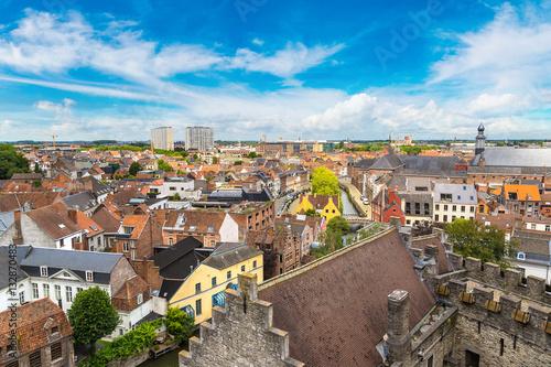 Staande foto Praag Panoramic view of Gent