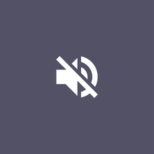 Speaker Mute Icon