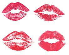 Kiss Mark Vectors