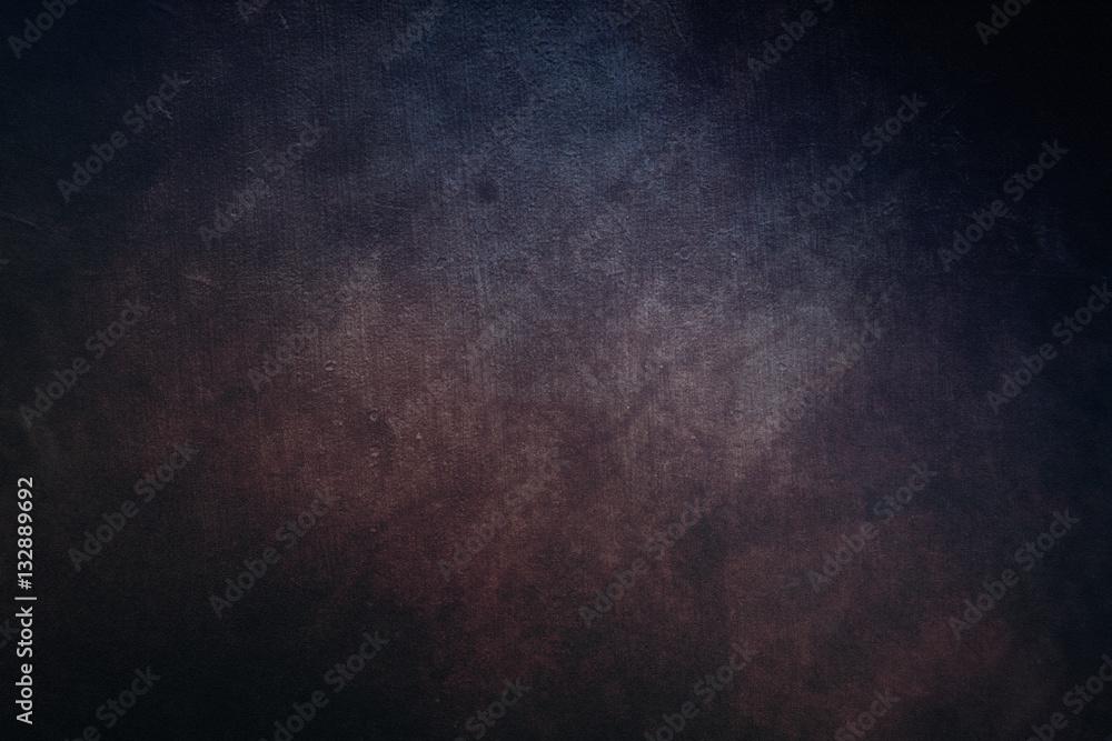 Fototapety, obrazy: Dark old grunge canvas texture vintage background