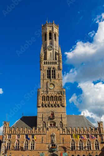 Fotografija The Belfry Tower in Bruges