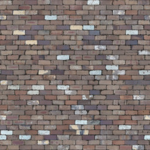 Seamless Tileable Texture Of Recycled Red Brick Paving