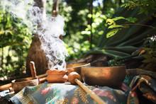 Mexican Or Indian Sauna Hut - ...