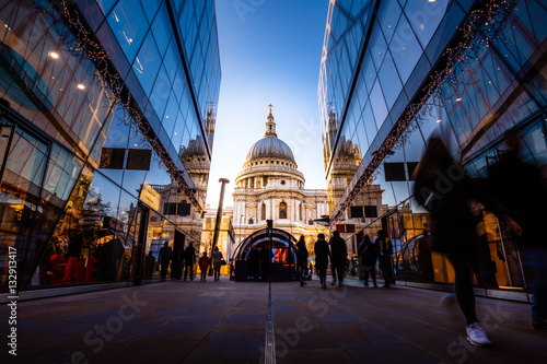 Acrylic Prints London St. Paul's Cathedral, London, England, United Kingdom