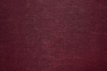 Burgundy Paper With A Fine Texture