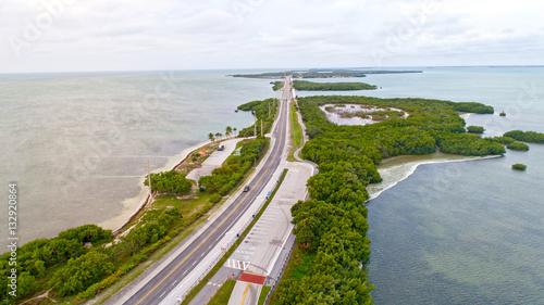 Little Duck Key, Missouri Key, Ohio Key, Bahia Honda Key, Florida Keys Aerial Island Landscape Overseas Highway
