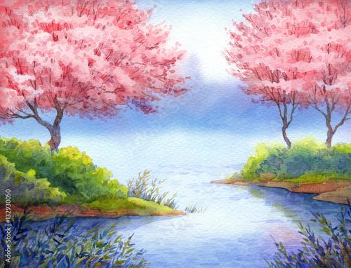 kwitnace-drzewa-nad-rzeka