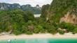 Aerial view on Thailand beach