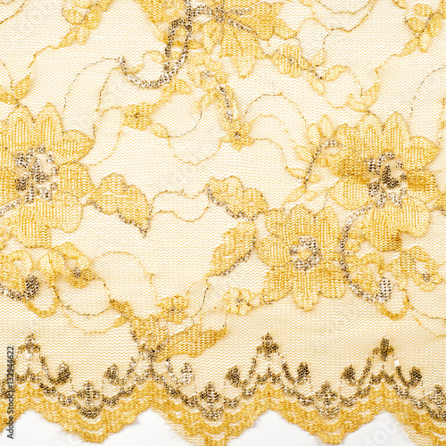 Fotobehang Stof fabric lace. lacy