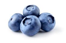 Blueberry. Fresh Berries Isola...