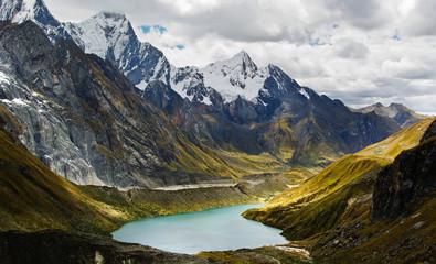 Cordillera z Andów, Peru