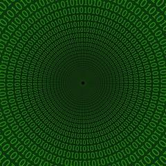 digital tunnel matrix style