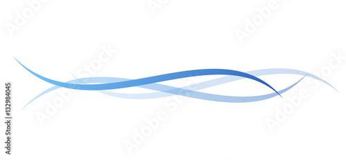 Fotografie, Obraz  linee, linea, sfondo, vettoriale, onde