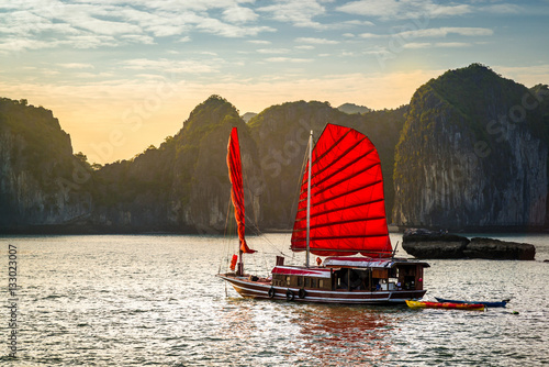 Ha Long Bay, Vietnam Wallpaper Mural