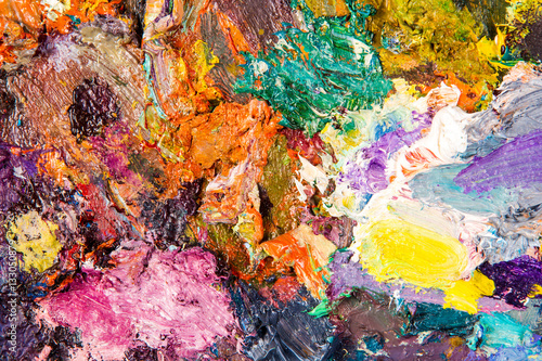 Fototapety, obrazy: The artist's palette