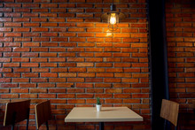 Cafe Or Restaurant Decorate Wi...