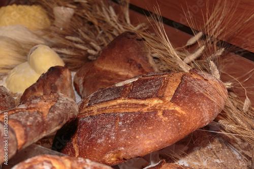 Altamura Italian Fresh Bread Wallpaper Mural