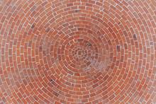Round Stone Pavement Pattern